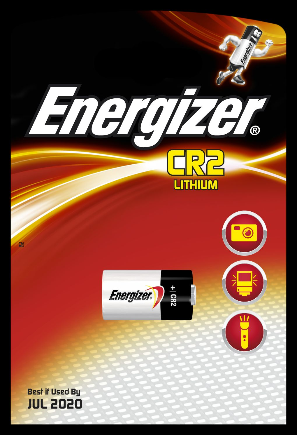 Baterie CR2 Energizer Lithium Photo -