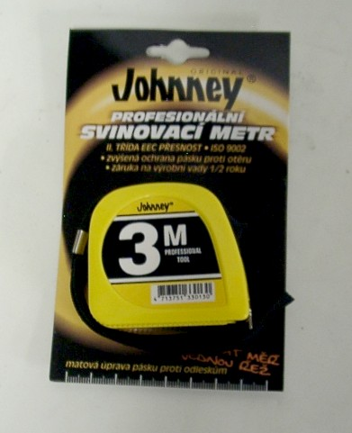 Metr svinovací 3 mx13 mm KDS Johnney -